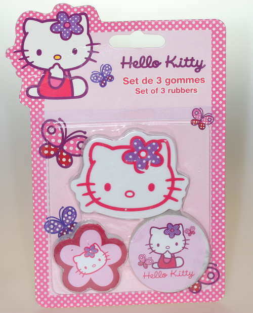 Hello Kitty Radiergummi, rosa