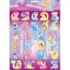Prinzessin 3D Alphabet Stickers
