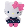 Hello Kitty Pl�sch 20cm, DOTTED SEA