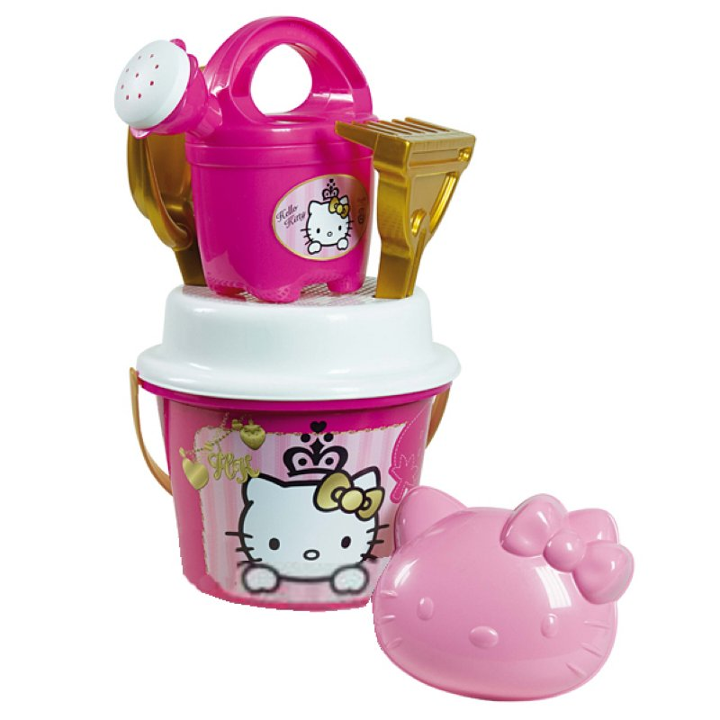Hello Kitty Sandeimer-Set gold