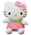 Hello Kitty Pl�sch 22cm Strawberry