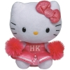 Hello Kitty Pl�sch 25cm pink Cheerleader