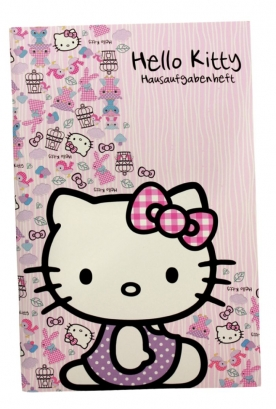 Hello Kitty Hausaufgabenheft 20.5cm WOODLAND