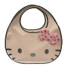Hello Kitty Handtasche D-Cut Enamel Bag weiss blau