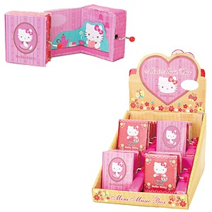 Hello Kitty Musikbox Princess, assortiert