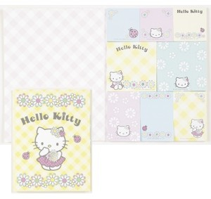 Hello Kitty Notizzettel Mermaid