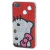 Hello Kitty iPhone 4 H�lle rot Bling