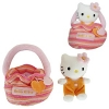 Hello Kitty Pl�schtier in Tasche Orange