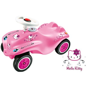 hello kitty bobby car von big f r hello. Black Bedroom Furniture Sets. Home Design Ideas