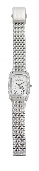 Hello Kitty Uhr Kitty Steps out Metallarmband