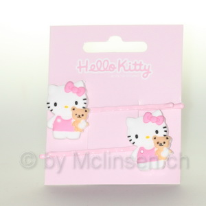 Hello Kitty Haarklammer Miau Bearli pink