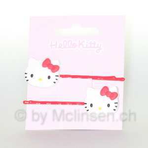 Hello Kitty Haarklammer Miau Kitty rot