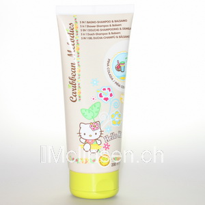 Hello Kitty Douchecreme  Baby Kitty 3in1 Pina Colada