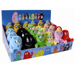 Barbapapa Bean Bag, assortiert, ca. 12cm