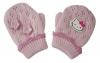 Hello Kitty Kinder Handschuhe Rosa Flowers