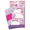 Hello kitty Etiketten Stickers Butterfly