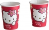 Hello Kitty Pink Party Trinkbecher Karton 2.5dl