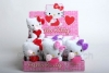 Hello Kitty mit Herz Pl�schtier sag I Love You