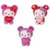Hello Kitty Pl�sch mit s�ssem Text, assortiert