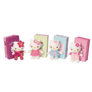 Hello Kitty Plüsch Mini in Box assortiert