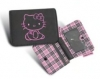 Hello Kitty Geldb�rse schwarz PLAID