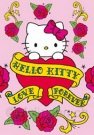 Hello Kitty Postkarte Tattoo 100x150mm