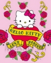 Postkarte  Hello Kitty tattoo Miniprint 20x25