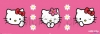 Querformat Poster Hello Kitty landscape 92x31