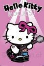 Hello Kitty Poster Rock Star 610x915