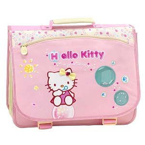 Hello Kitty Schulsack Schultheke Bubble