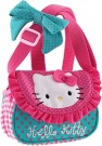 Hello Kitty Schultertasche pink blue 13cm