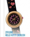 Hello Kitty Flik Flak Kinderuhr Devilish limitierte Edition
