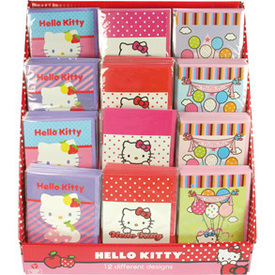 Hello Kitty Grusskarten Miau assortiert
