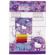 Hello Kitty Mal-Set mit 4 Stifte