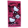 Hello Kitty Badetuch pink DONUT
