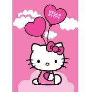 hello kitty teppich 95x133cm ballon f r hello kitty spiele geschenke und. Black Bedroom Furniture Sets. Home Design Ideas