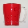 Hello Kitty Becher rot Plastik