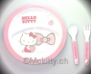 Hello Kitty Teller Besteck Set Ribbon