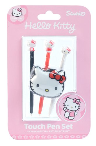 Hello Kitty Nintendo DS Touch Pen Set