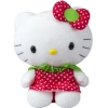 Hello Kitty Pl�sch 22cm Strawberry Kleid
