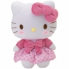 Hello Kitty Pl�sch, Rock pink, 30.5cm
