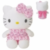 Hello Kitty Pl�sch, rosa Flower, 40cm